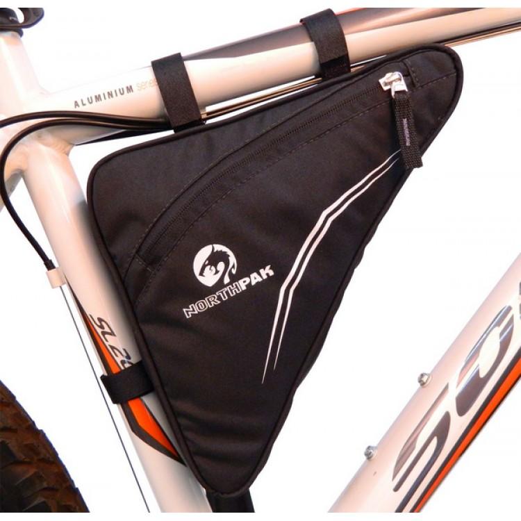 BOLSA TRIANGULO GRANDE - NORTHPAK - Acessórios para Bike - Bikes e Cycling  - 00168 - 97bdaf37500