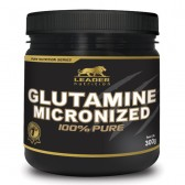 GLUTAMINE MICRONIZED 100% PURE 300G - LEADER NUTRITION