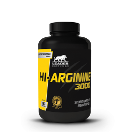 HI-ARGININE 3000 180CAPS - LEADER NUTRITION