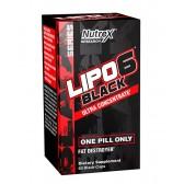LIPO 6 BLACK UC 60CAPS - NUTREX