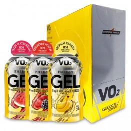 VO2 ENERGY GEL 30G CAIXA 10UNID - INTEGRALMEDICA - Carboidratos - Energia - 00093 - Tanquinho Suplementos