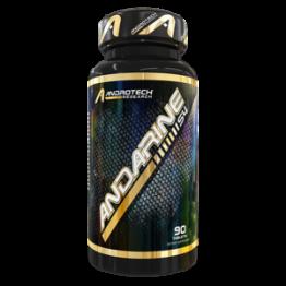 ANDARINE S-4 25MG 90CAPS - ANDROTECH RESEARCH - Crescimento - Massa Muscular - 00252 - Tanquinho Suplementos