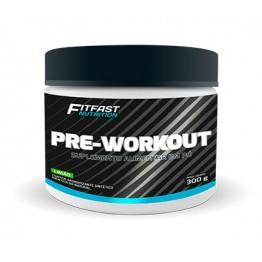 PRE-WORKOUT 300G - FITFAST NUTRITION - Pré-Treino - Massa Muscular - 00222 - Tanquinho Suplementos