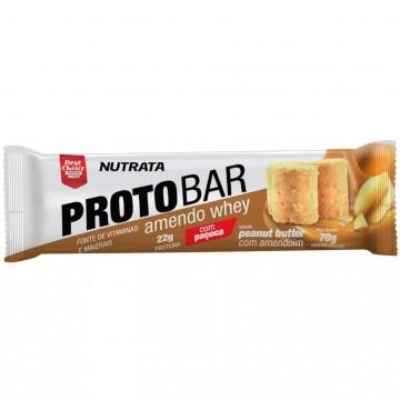 PROTOBAR 70G 01UNID - NUTRATA - Barras Protéicas - Massa Muscular - 00392 - Tanquinho Suplementos