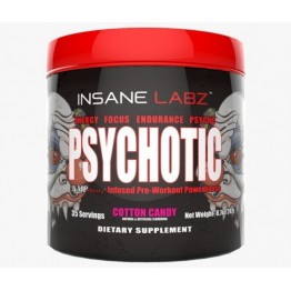 PSYCHOTIC 30DOSES - INSANE LABZ - Pré-Treino - Massa Muscular - 00268 - Tanquinho Suplementos
