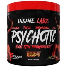 PSYCHOTIC HELLBOY 35DOSES - INSANE LABZ - Pré-Treino - Massa Muscular - 00350 - Tanquinho Suplementos