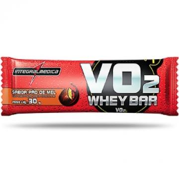 VO2 WHEY BAR 30G - INTEGRALMEDICA - Barras Protéicas - Massa Muscular - 00091 - Tanquinho Suplementos