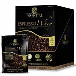 ESPRESSO WHEY BOX 462G 14SACHÊS - ESSENTIAL NUTRITION