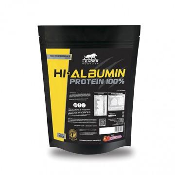 HI-ALBUMIN PROTEIN 100% 500G - LEADER NUTRITION - Albumina - Proteínas - 00162 - Tanquinho Suplementos