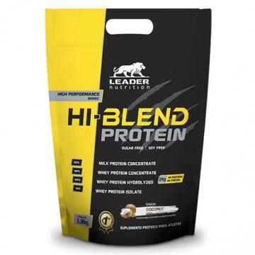 HI-BLEND PROTEIN 1,8KG - LEADER NUTRITION - Whey Protein - Proteínas - 00258 - Tanquinho Suplementos