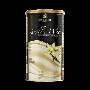 VANILLA WHEY 900G - ESSENTIAL NUTRITION - Whey Protein - Proteínas - 00324 - Tanquinho Suplementos