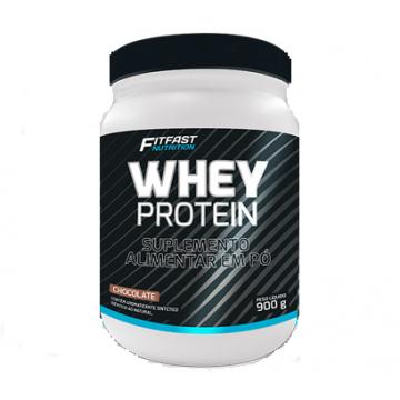 WHEY PROTEIN 900G - FITFAST NUTRITION - Whey Protein - Proteínas - 00216 - Tanquinho Suplementos