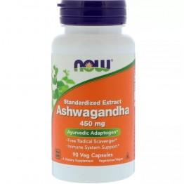 ASHWAGANDHA 450MG 90CAPS - NOW