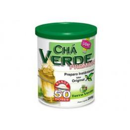 CHÁ VERDE PREMIUM 200G - TERRA VERDE - Chás - Produtos Naturais - 00113 - Tanquinho Suplementos