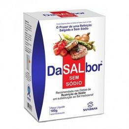 DASALBOR SAL SEM SÓDIO 100G - SANIBRAS