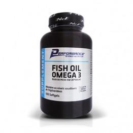 FISH OIL ÔMEGA 3 1000MG 100CAPS - PERFORMANCE - Ômega - Funcionais - 00274 - Tanquinho Suplementos