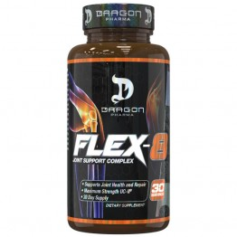 FLEX-8 JOINT SUPPORT COMPLEX 30CAPS - DRAGON PHARMA - Diversos - Saúde & Beleza - 00328 - Tanquinho Suplementos