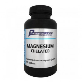 MAGNESIUM CHELATED 100CAPS - PERFORMANCE - Vitaminas e Minerais - Saúde & Beleza - 00260 - Tanquinho Suplementos