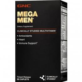 MEGA MEN 90CAPS - GNC - Vitaminas - Vitaminas e Minerais - 00344 - Tanquinho Suplementos