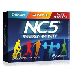NC5 SYNERGY INFINITY 600MG 30CAPS - POWER SUPPLEMENTS