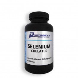 SELENIUM CHELATED 100CAPS - PERFORMANCE - Vitaminas - Vitaminas e Minerais - 00261 - Tanquinho Suplementos