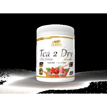 TEA 2 DRY CHÁ DETOX 225G - LEADER NUTRITION - Chás - Produtos Naturais - 00439 - Tanquinho Suplementos
