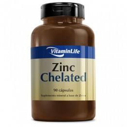 ZINC CHELATED 90CAPS - VITAMINLIFE
